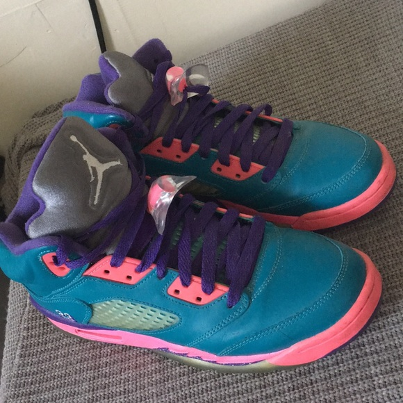 Jordan Shoes | Pink Blue Purple 5s